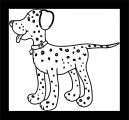 Dog Coloring Pages 064