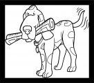 Dog Coloring Pages 070
