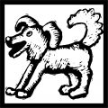 Dog Coloring Pages 075