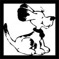 Dog Coloring Pages 081