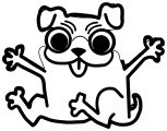 Dog Coloring Pages 095