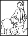 Dog Coloring Pages 129