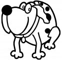 Dog Coloring Pages 133