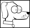 Dog Coloring Pages 136