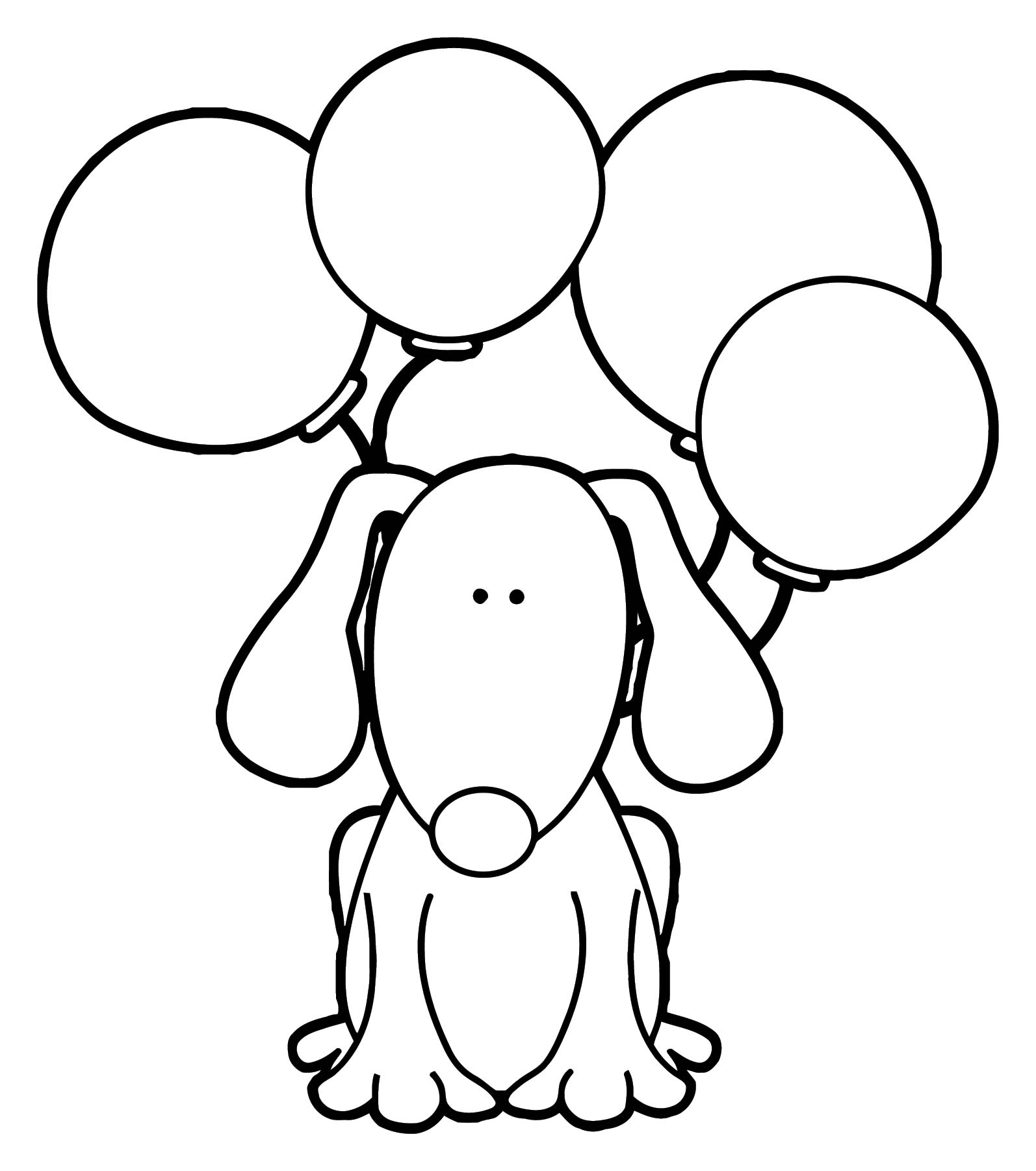 Dog Coloring Pages 141 | Wecoloringpage.com