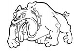Dog Coloring Pages 143
