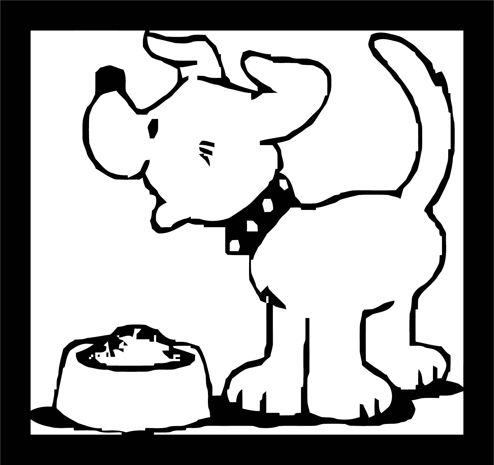 Dog Coloring Pages 145