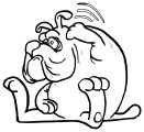 Dog Coloring Pages 148
