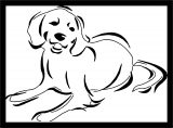 Dog Coloring Pages 170