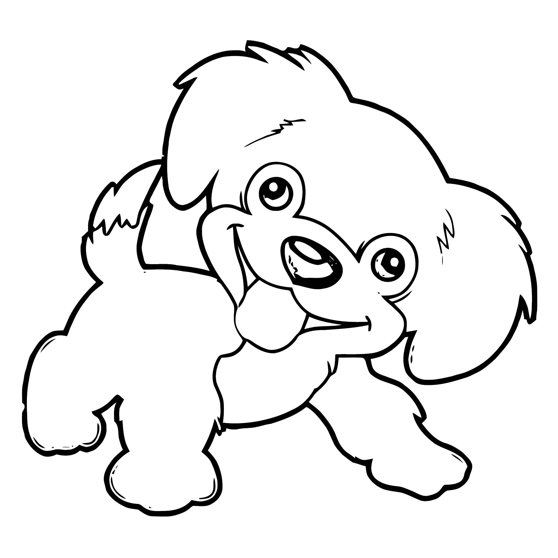 Dog Coloring Pages 173