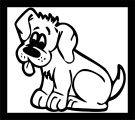 Dog Coloring Pages 187