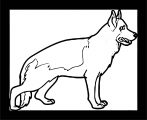 Dog Coloring Pages 196