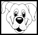 Dog Coloring Pages 199