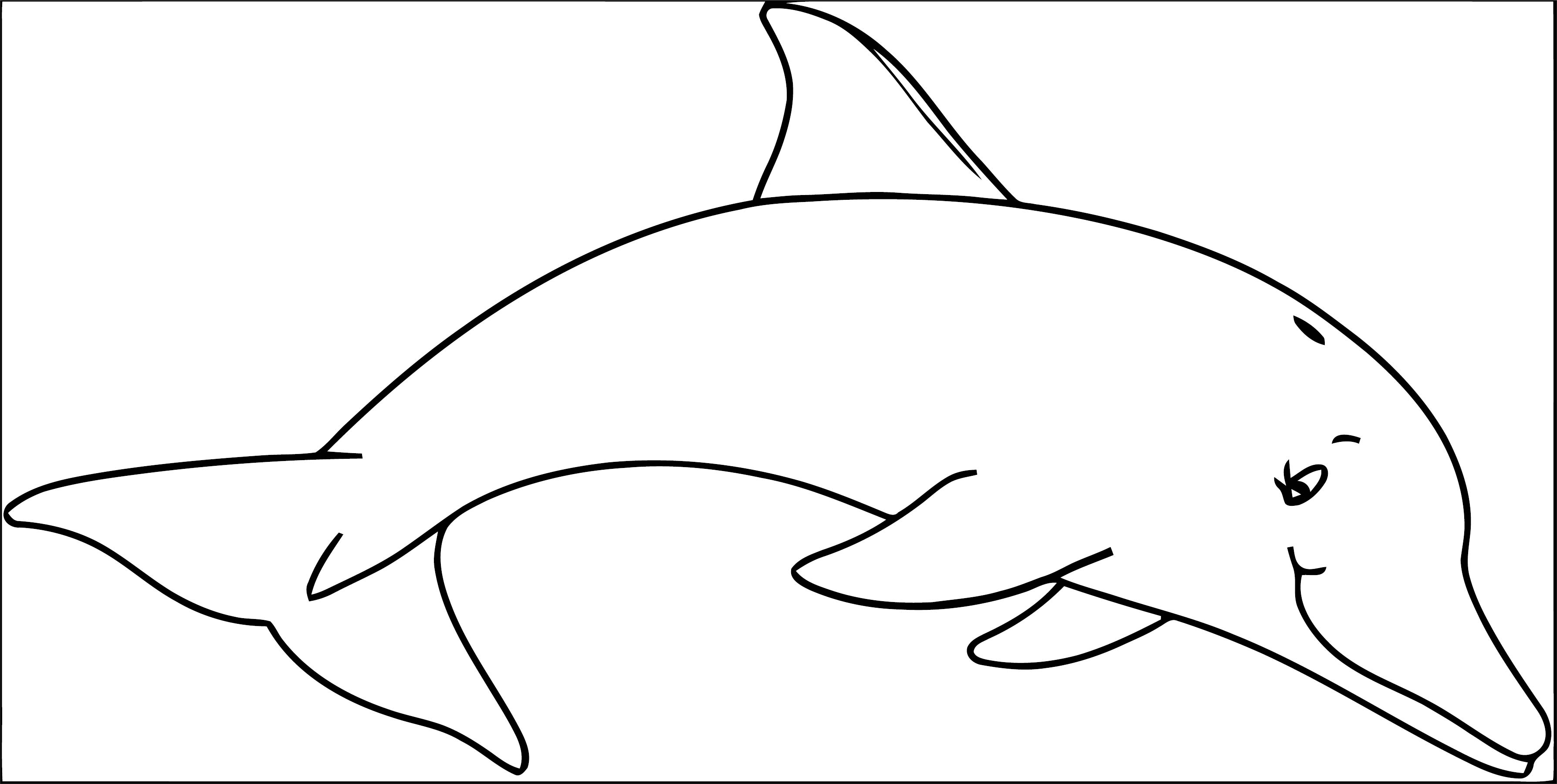 Dolphin Coloring Page 031