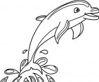 Dolphin Coloring Page 105