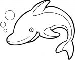 Dolphin Coloring Page 175