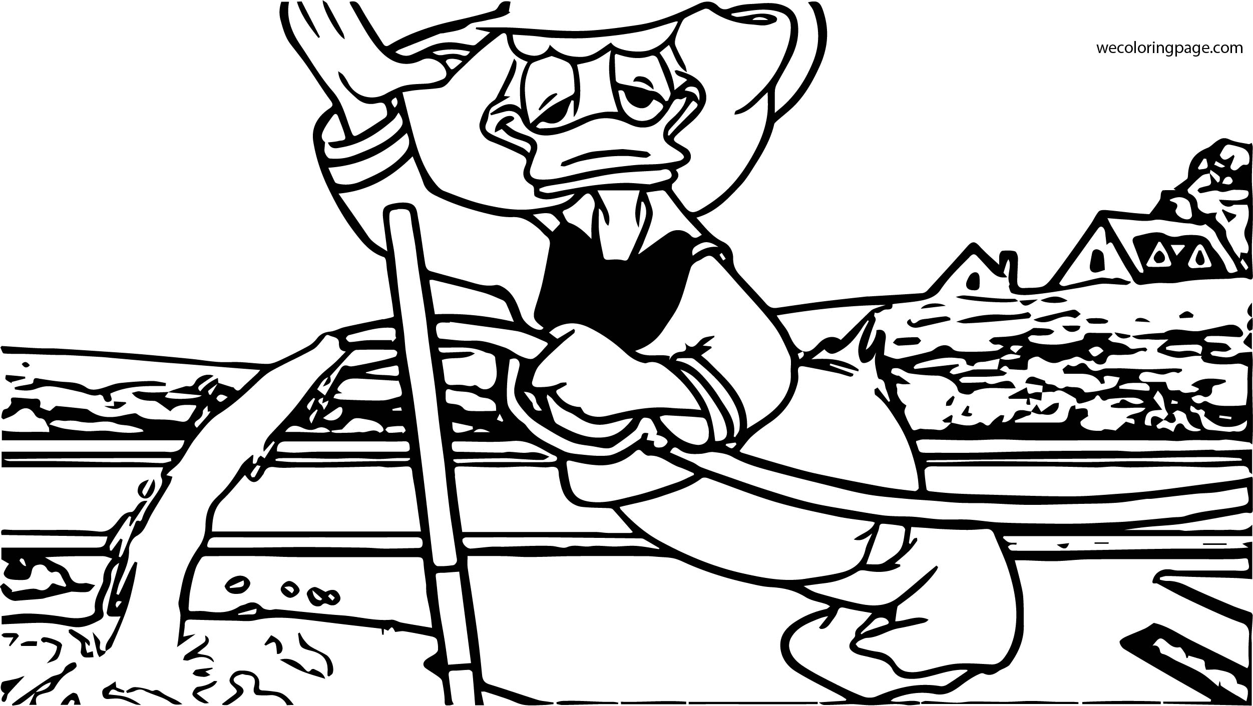 Donald Duck Coloring Page WeColoringPage 006