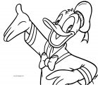 Donald Duck Coloring Page WeColoringPage 024