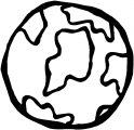 Earth Globe Coloring Page WeColoringPage 011