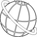 Earth Globe Coloring Page WeColoringPage 021