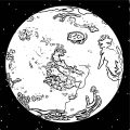 Earth Globe Coloring Page WeColoringPage 046