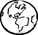 Earth Globe Coloring Page WeColoringPage 047