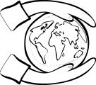 Earth Globe Coloring Page WeColoringPage 053