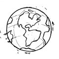 Earth Globe Coloring Page WeColoringPage 055