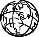 Earth Globe Coloring Page WeColoringPage 096
