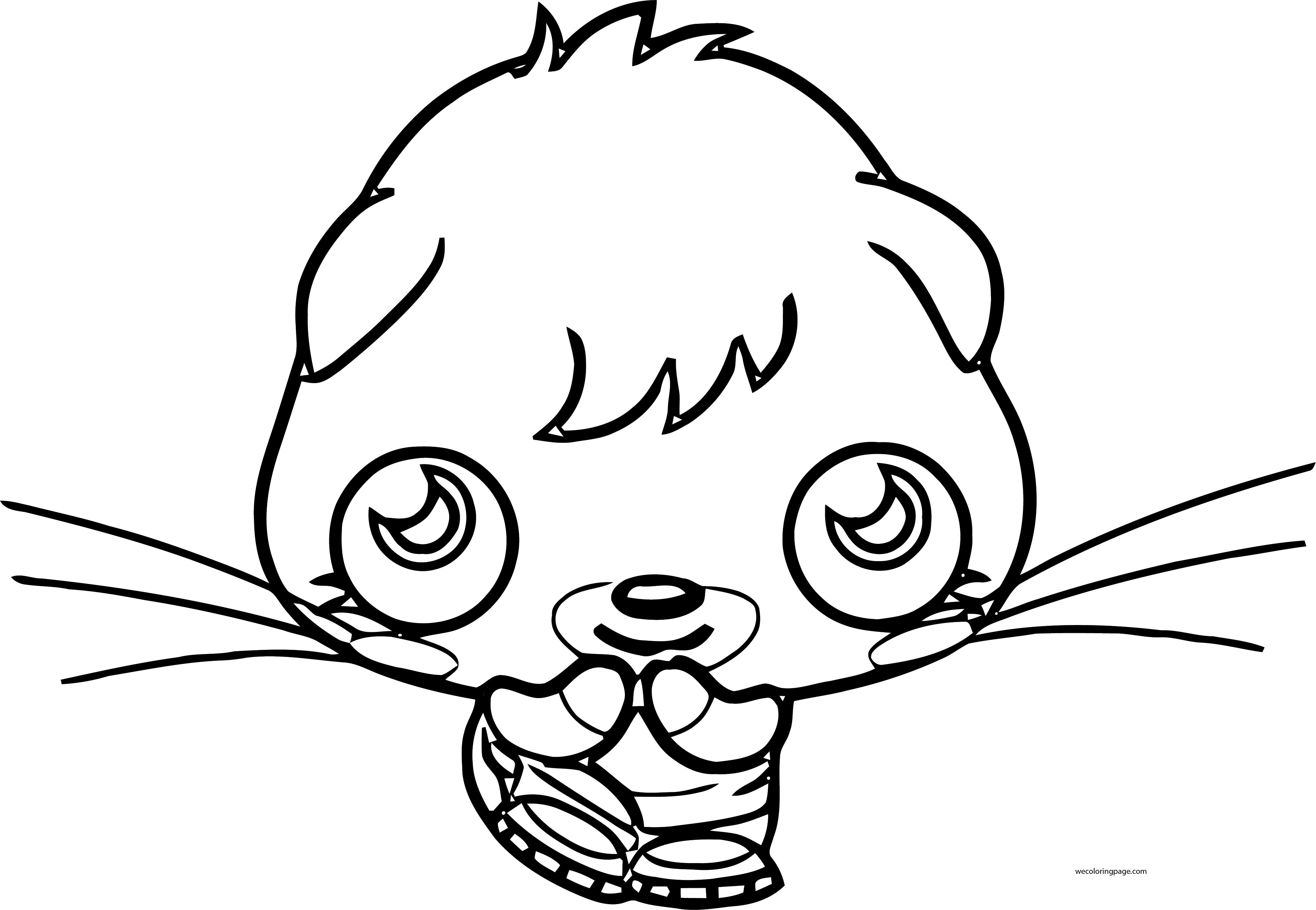 excited moshi monsters coloring page excited