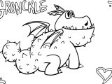 Gronckle Coloring Pages Heart Dinosaur