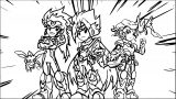 Heroes Legend Of The Battle Disks Post Coloring Page