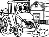 John Johnny Deere Tractor Coloring Page WeColoringPage 38
