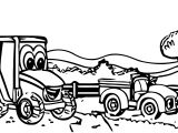 John Johnny Deere Tractor Coloring Page WeColoringPage 55
