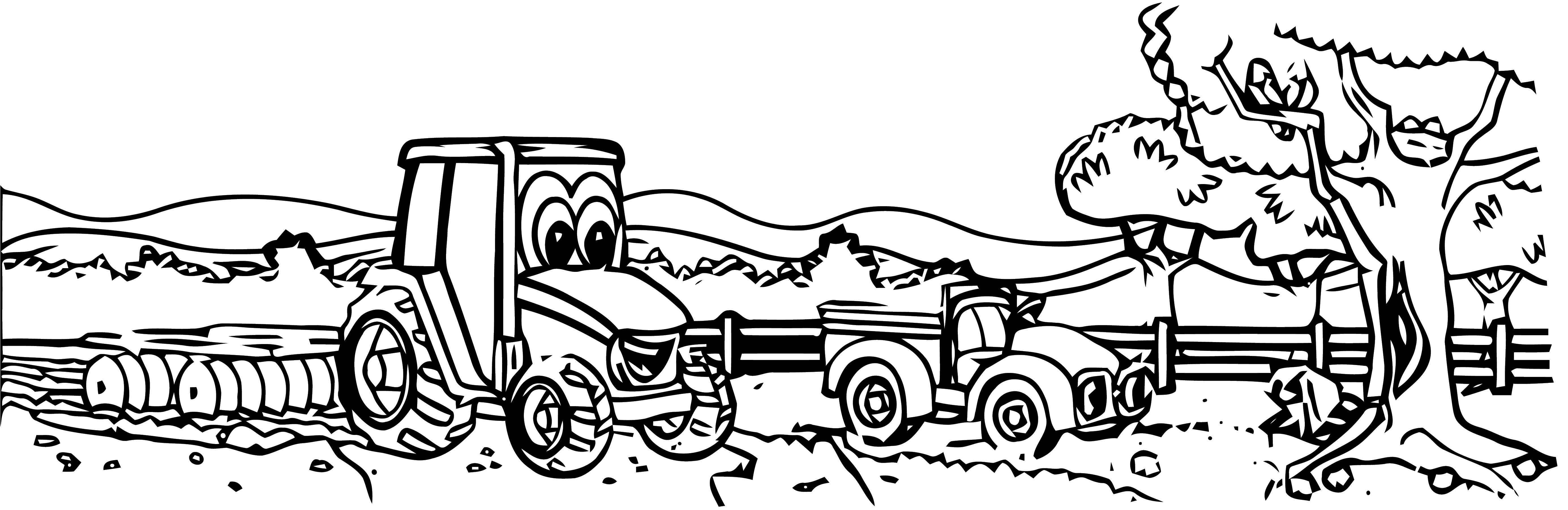 John johnny deere tractor coloring page wecoloringpage 55 for Johnny tractor coloring pages