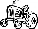 John Johnny Deere Tractor Coloring Page WeColoringPage 59