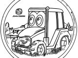 John Johnny Deere Tractor Coloring Page WeColoringPage 60