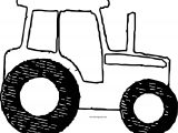 John Johnny Deere Tractor Side View Coloring Page WeColoringPage 08