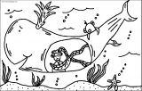 Jonah And Whale Coloring Page