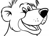 Jungle Book Baloo Bear Coloring Page