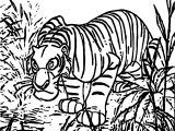 Lion Jungle Book Coloring Page