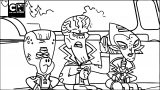 Missing Battleballs I Supernoobs I Cartoon Network Coloring Page