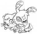 Moshi Monsters Coloring Page 19