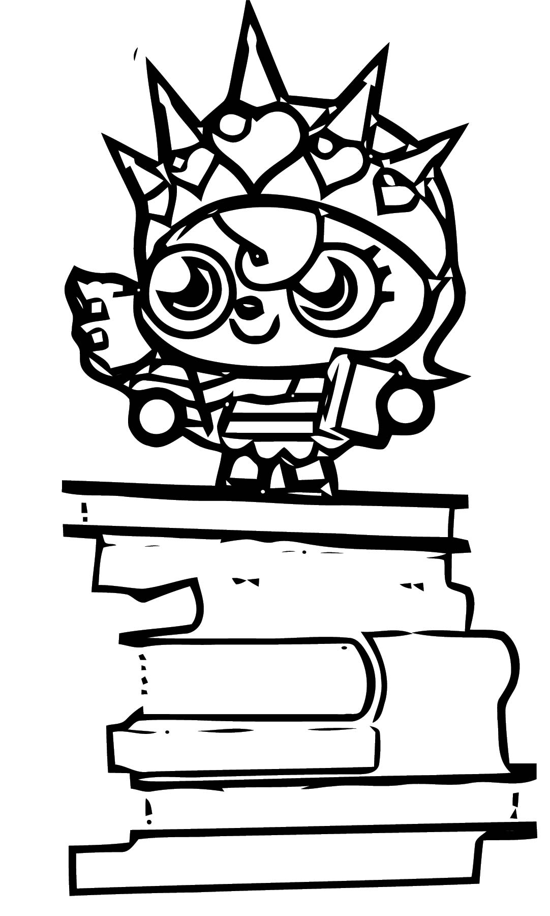 Moshi Monsters Coloring Page 22