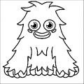 Moshi Monsters Coloring Page 31