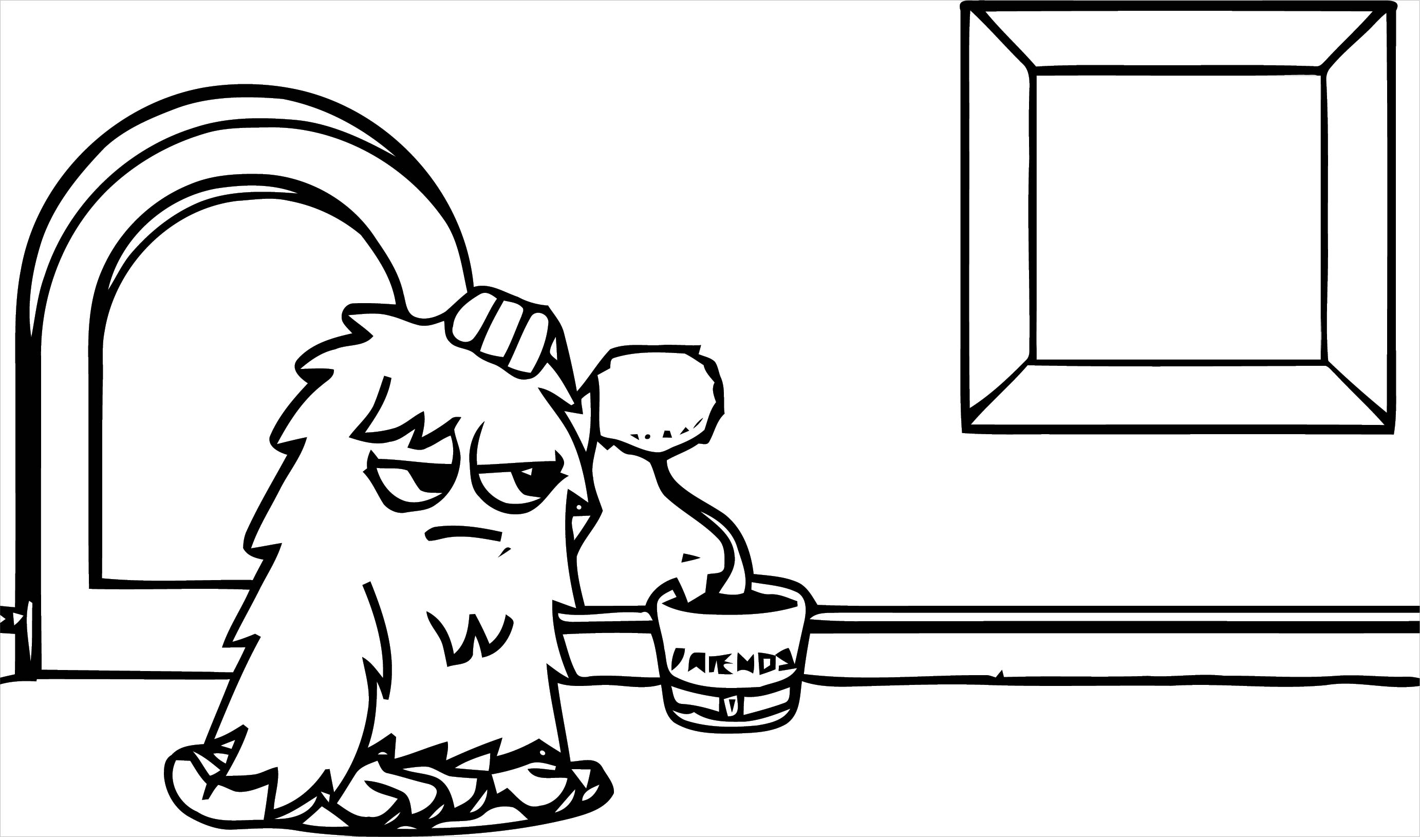 Moshi Monsters Coloring Page 32