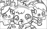 Moshi Monsters Coloring Page 35