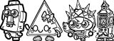 Moshi Monsters Group Image 992 Coloring Page