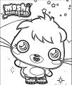 Moshi Monsters Poppet Coloring Page