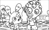 Moshi Monsters The Movie Coloring Page Coloring Page